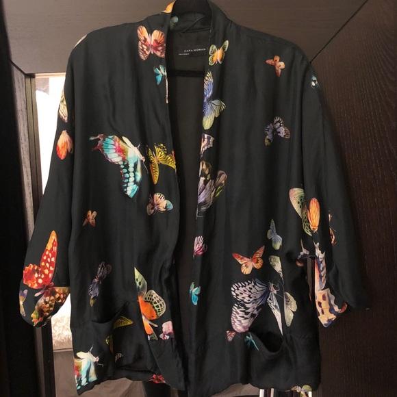 1f1e90f3e94 ZARA Butterfly Kimono Jacket. M 5acd85202c705d97c443e6fa